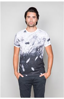 T-Shirt T-SHIRT WINGS Homme W19175 (49815) - DEELUXE