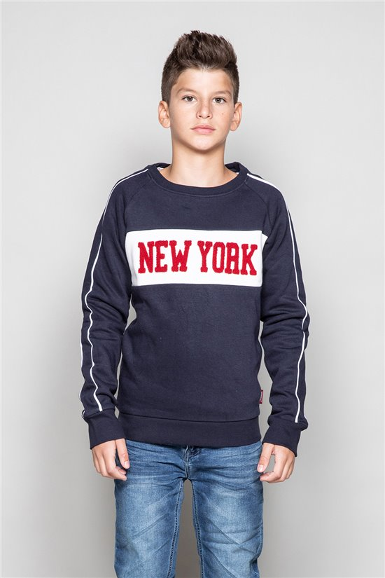 Sweat Sweat MANHATTAN Garçon W19530B (49973) - DEELUXE