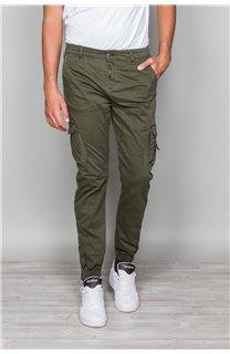 Pantalon PANTALON GARDEN Homme W197017 (50143) - DEELUXE