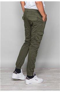 Pantalon PANTALON GARDEN Homme W197017 (50144) - DEELUXE