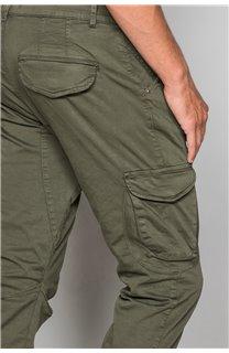 Pantalon PANTALON GARDEN Homme W197017 (50145) - DEELUXE