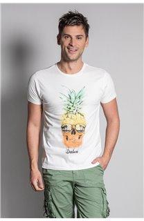 T-Shirt T-SHIRT EDDY Homme S20150 (50412) - DEELUXE