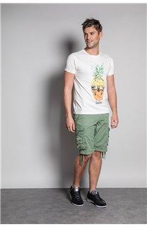 T-Shirt T-SHIRT EDDY Homme S20150 (50413) - DEELUXE
