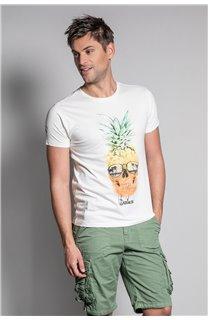 T-Shirt T-SHIRT EDDY Homme S20150 (50414) - DEELUXE
