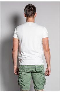 T-Shirt T-SHIRT EDDY Homme S20150 (50415) - DEELUXE