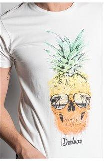 T-Shirt T-SHIRT EDDY Homme S20150 (50416) - DEELUXE