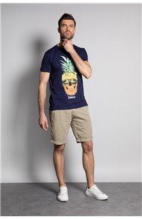 T-Shirt T-SHIRT EDDY Homme S20150 (50418) - DEELUXE