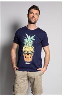 T-Shirt T-SHIRT EDDY Homme S20150 (50419) - DEELUXE