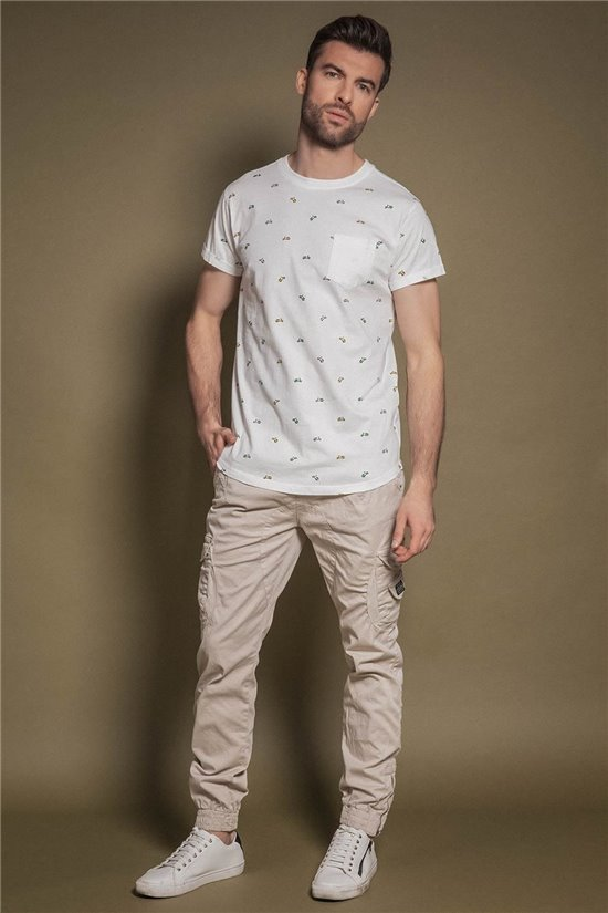 T-Shirt DJEMBE Homme S20129 (50422) - DEELUXE