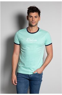 T-Shirt HYLTER Homme S20110 (50502) - DEELUXE