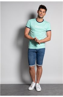T-Shirt HYLTER Homme S20110 (50503) - DEELUXE