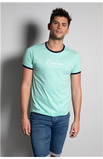 T-Shirt HYLTER Homme S20110 (50504) - DEELUXE