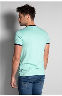 T-Shirt HYLTER Homme S20110 (50505) - DEELUXE