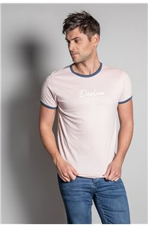 T-Shirt HYLTER Homme S20110 (50509) - DEELUXE