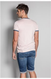 T-Shirt HYLTER Homme S20110 (50510) - DEELUXE