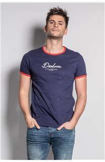 T-Shirt HYLTER Homme S20110 (50512) - DEELUXE