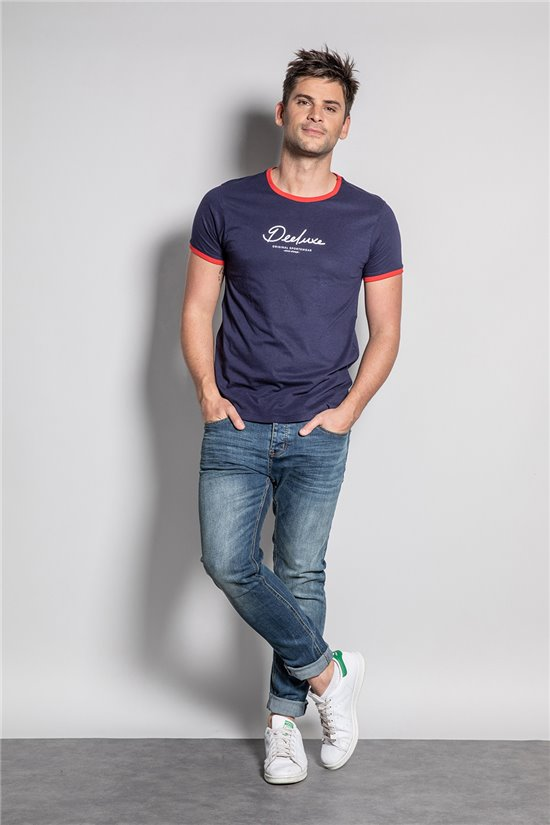T-Shirt HYLTER Homme S20110 (50517) - DEELUXE