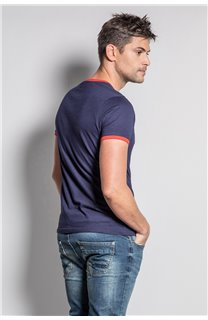 T-Shirt HYLTER Homme S20110 (50515) - DEELUXE