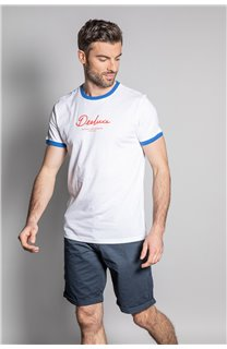T-Shirt HYLTER Homme S20110 (50518) - DEELUXE