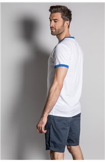 T-Shirt HYLTER Homme S20110 (50520) - DEELUXE