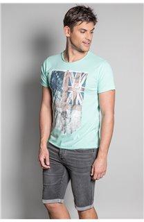T-Shirt FLAGY Homme S20116 (50637) - DEELUXE