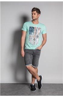 T-Shirt FLAGY Homme S20116 (50638) - DEELUXE