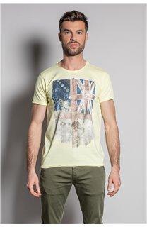 T-Shirt FLAGY Homme S20116 (50644) - DEELUXE