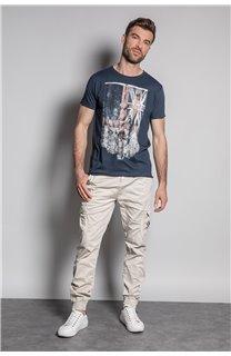 T-Shirt FLAGY Homme S20116 (50652) - DEELUXE