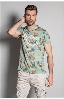 T-Shirt T-SHIRT FRESH Homme S20156 (50657) - DEELUXE