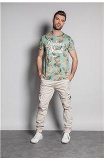T-Shirt T-SHIRT FRESH Homme S20156 (50658) - DEELUXE