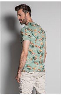T-Shirt T-SHIRT FRESH Homme S20156 (50660) - DEELUXE