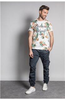 T-Shirt T-SHIRT FRESH Homme S20156 (50663) - DEELUXE