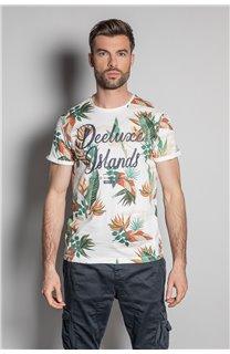 T-Shirt T-SHIRT FRESH Homme S20156 (50664) - DEELUXE