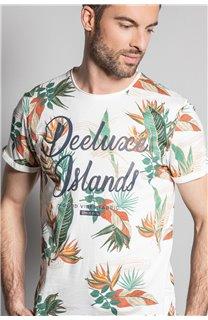T-Shirt T-SHIRT FRESH Homme S20156 (50666) - DEELUXE