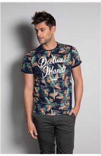 T-Shirt T-SHIRT FRESH Homme S20156 (50668) - DEELUXE