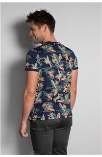 T-Shirt T-SHIRT FRESH Homme S20156 (50670) - DEELUXE