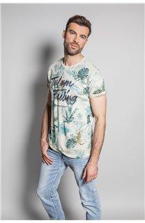 T-Shirt T-SHIRT JOSHUA Homme S20108 (50672) - DEELUXE