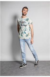 T-Shirt T-SHIRT JOSHUA Homme S20108 (50673) - DEELUXE
