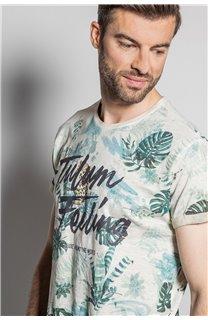 T-Shirt T-SHIRT JOSHUA Homme S20108 (50674) - DEELUXE