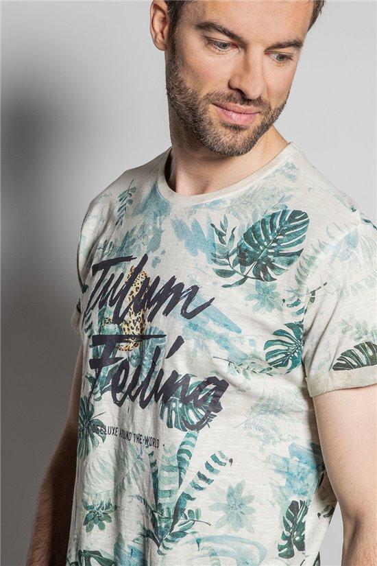 T-Shirt T-SHIRT JOSHUA Homme S20108 (50676) - DEELUXE