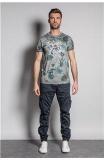 T-Shirt T-SHIRT JOSHUA Homme S20108 (50678) - DEELUXE