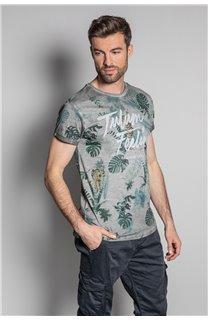 T-Shirt T-SHIRT JOSHUA Homme S20108 (50679) - DEELUXE