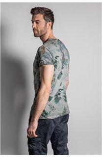 T-Shirt T-SHIRT JOSHUA Homme S20108 (50680) - DEELUXE