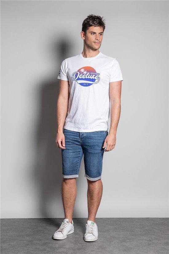 T-Shirt T-SHIRT TRIBU Homme S20193 (50897) - DEELUXE