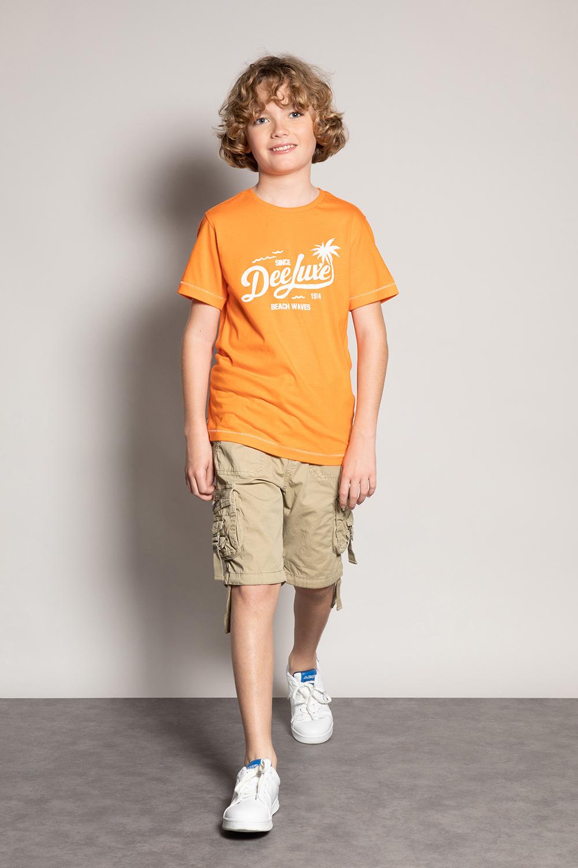T-Shirt AKAU - Couleur - Mango, Taille - 8