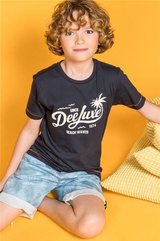 T-Shirt T-Shirt AKAU Garçon S20191B (50976) - DEELUXE