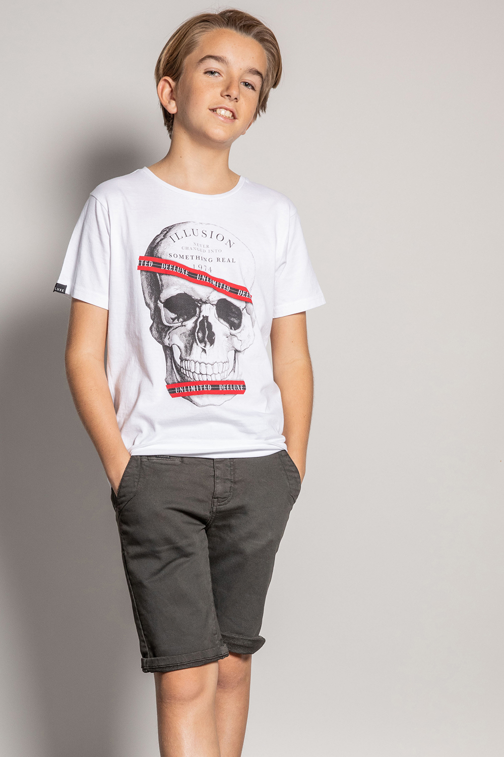 T-Shirt RUDY - Couleur - White, Taille - 8