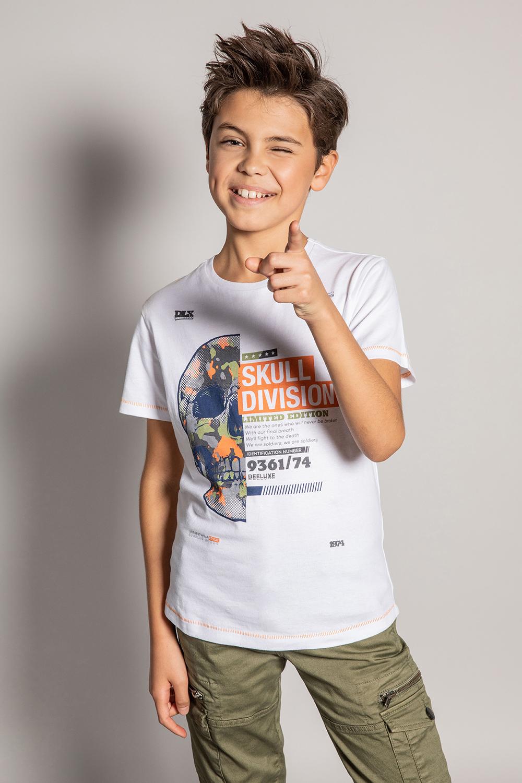T-Shirt SURPLUS - Couleur - White, Taille - 8