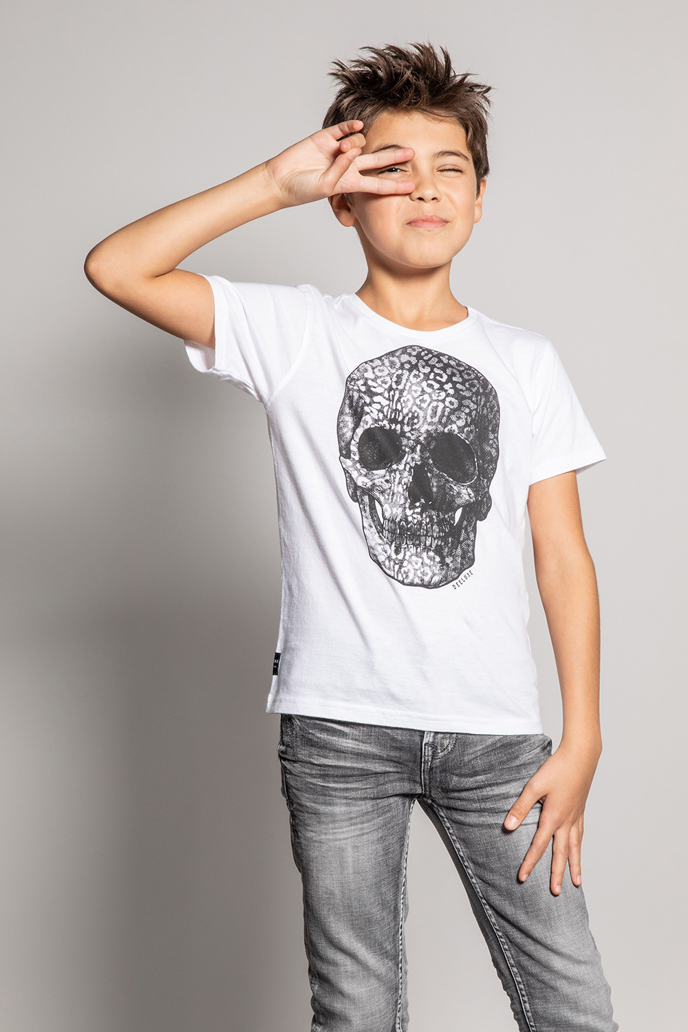 T-Shirt HADES - Couleur - White, Taille - 8
