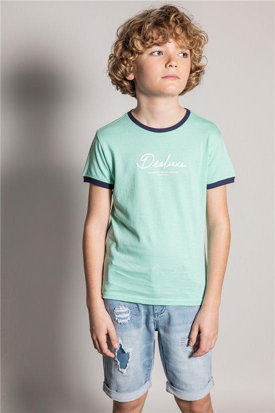 T-Shirt T-Shirt HYLTER Garçon S20110B (51036) - DEELUXE